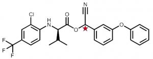 Pesticider.Tau-fluvalinat.kiral